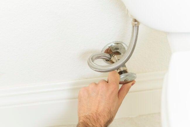 low water pressure in house