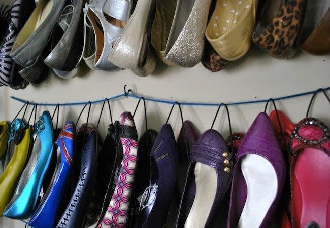 DIY Shoe Rack - Hanger