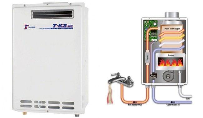 Installing a Tankless Water Heater - Takagi