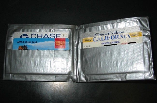Duct Tape DIY Projects - Wallet