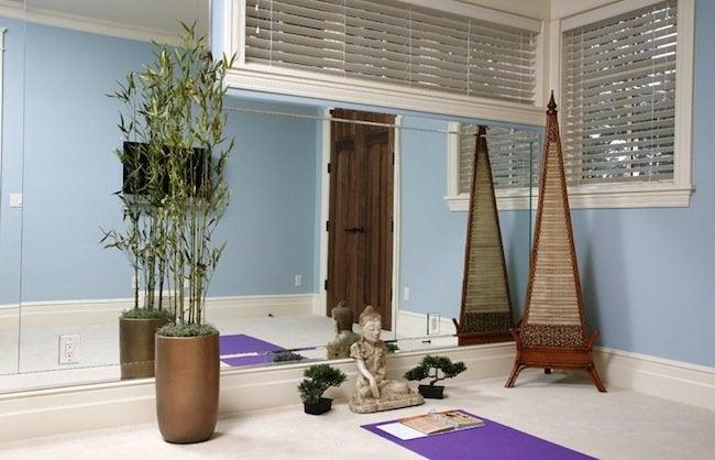 DIY Gym - Yoga Room