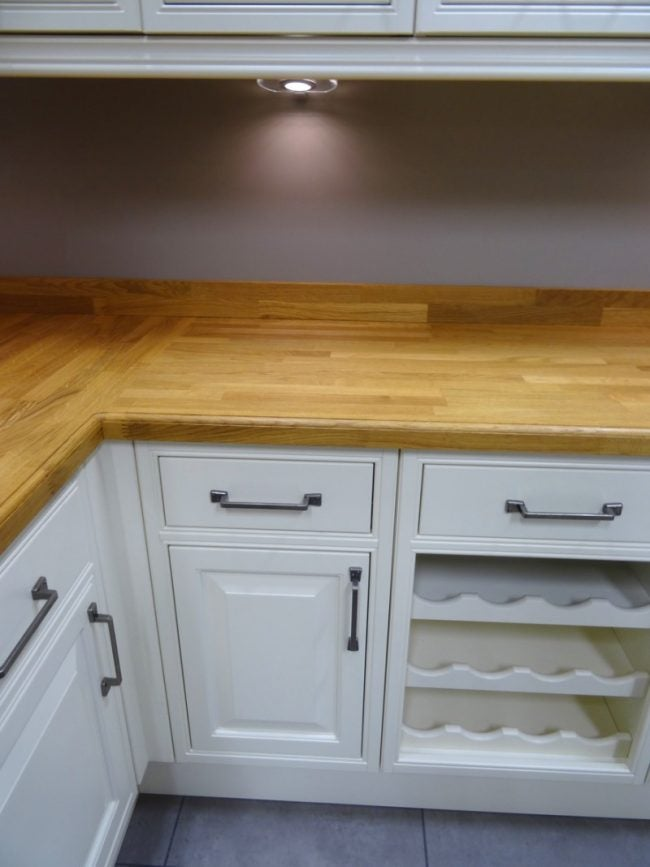 Start in the Corner When Installing Base Cabinets