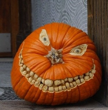 October Projects - Carved Pumpkin