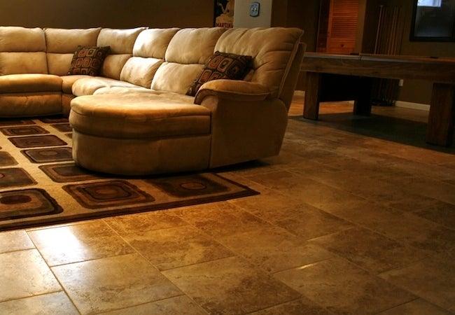 Basement Flooring 101 Bob Vila, What Is The Best Flooring For A Basement That Floods