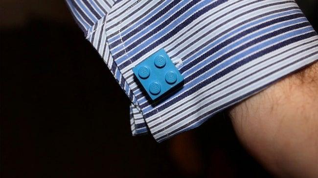 Repurpose Legos - Cufflinks
