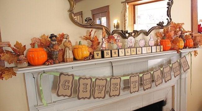 DIY Thanksgiving Decor - Banner