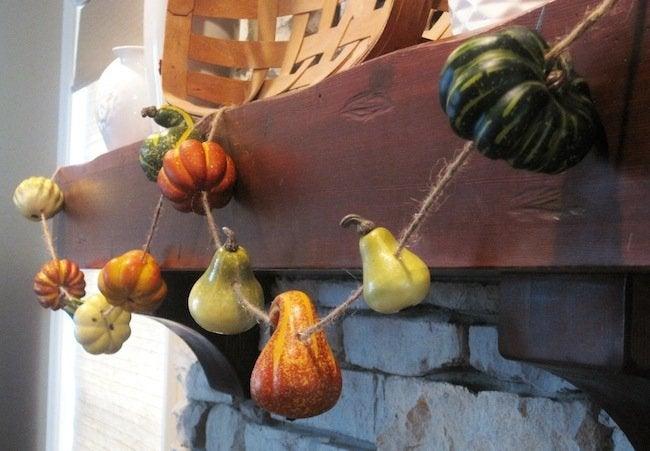 Gourd Crafts - Garland