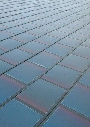 Solar Shingles - Installed