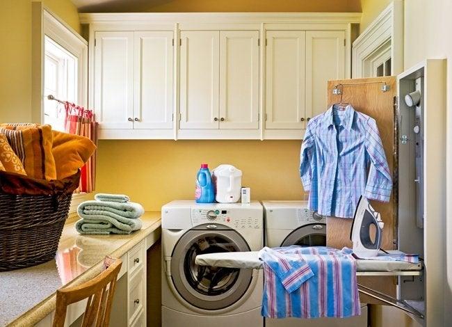 Laundry Room Ideas - Ironing Board