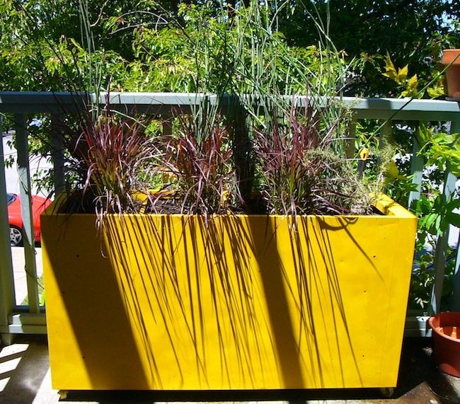 DIY File Cabinet Projects - Planter