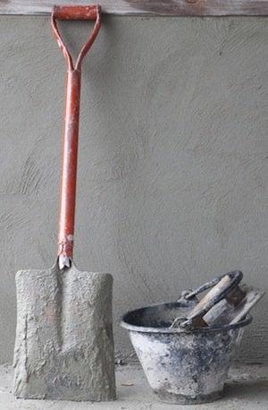 Cement vs. Concrete - Tools