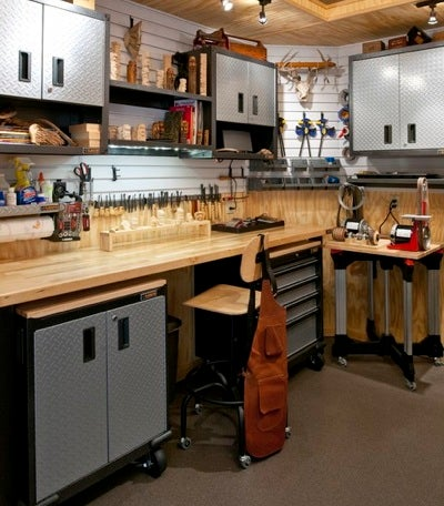 Garage Remodel Ideas - Workshop