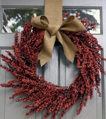 November Projects - Berry Wreath