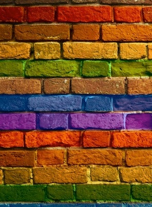 How to Paint Brick - Multicolor Wall