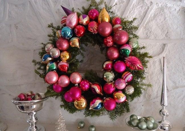 Ornament DIY Wreath