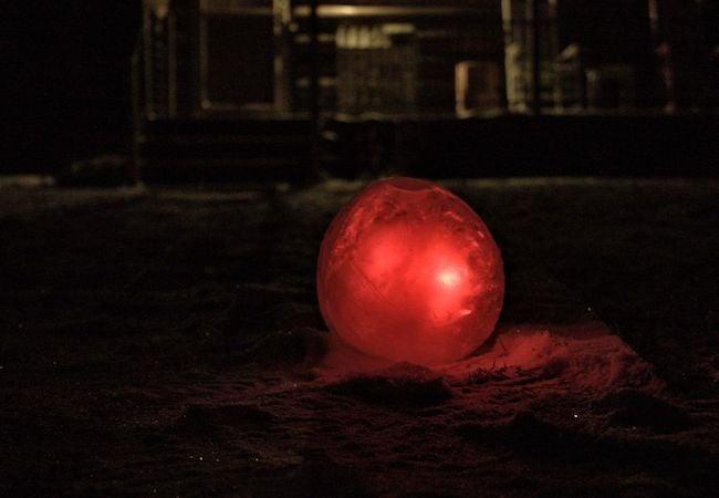 Ice Luminaries - Tie Dye