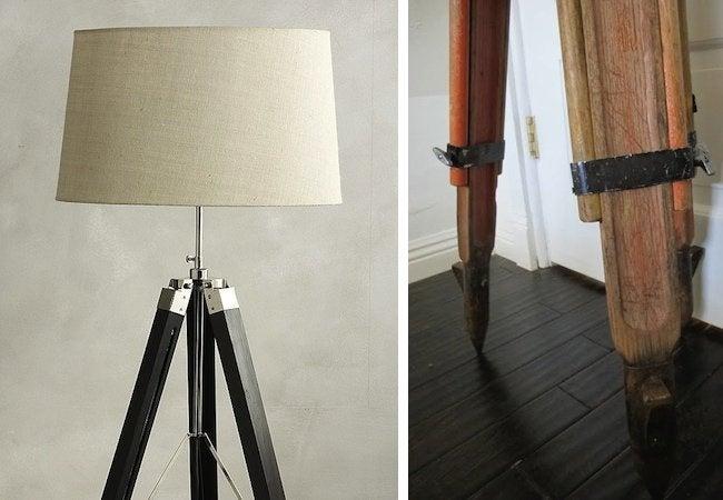 DIY Floor Lamp - Tripod