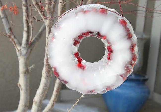 Ice Luminaries - Wreath