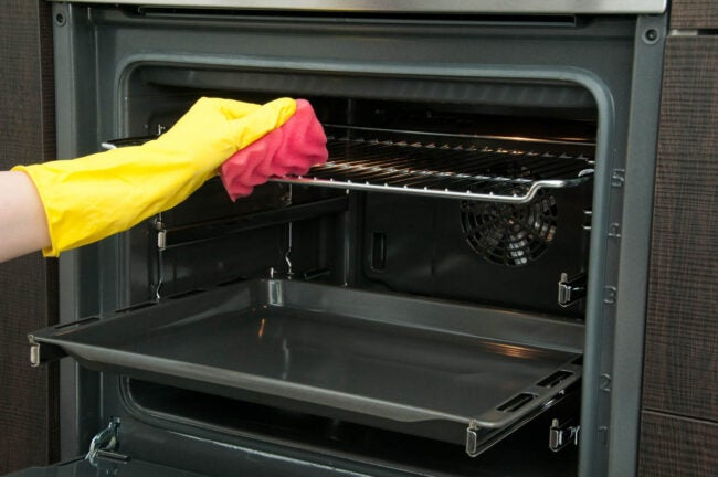 How To Clean Oven Racks with Commercial Oven Cleaners