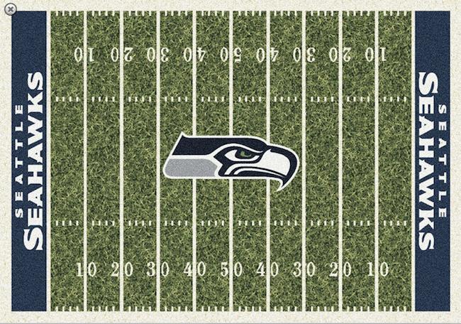 Seahawks rug