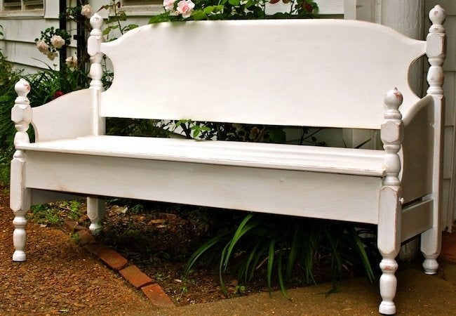 DIY Bench - Bed Frame