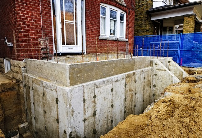 Home Addition Foundations