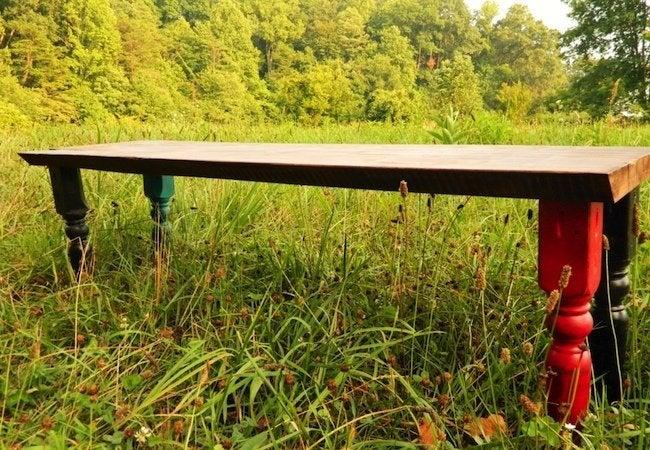 DIY Bench - Spindles