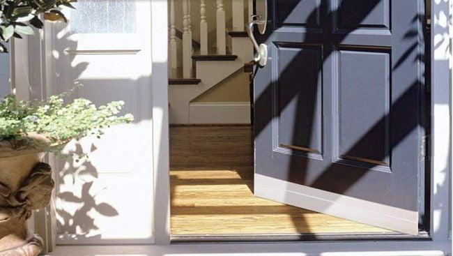 Type of Weatherstripping: Door Sweep