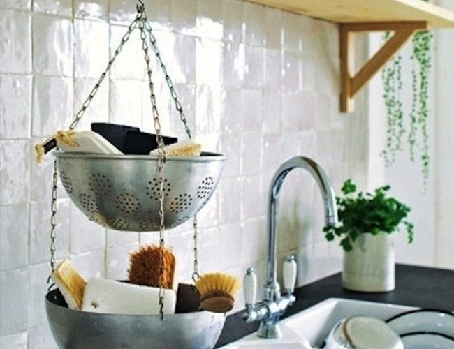 Repurpose Colanders - Baskets