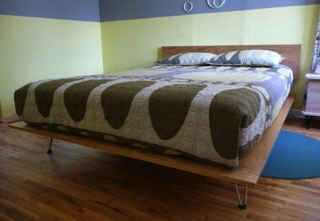 DIY Platform Bed - Modern