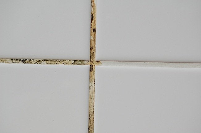cleaning - replacing grout