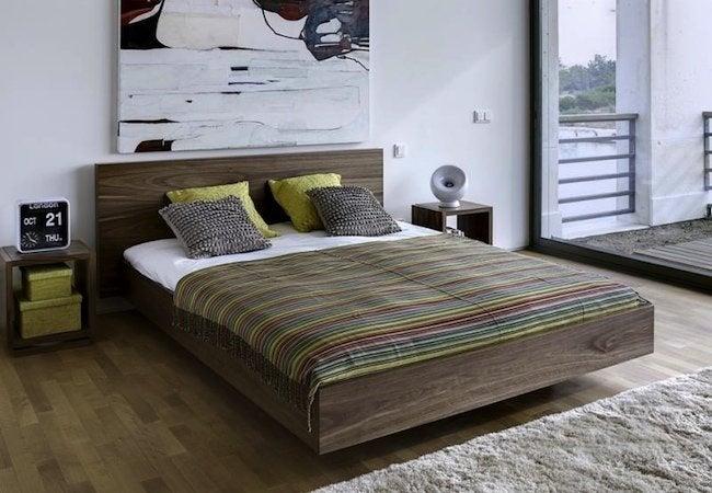 DIY Platform Bed - Floating