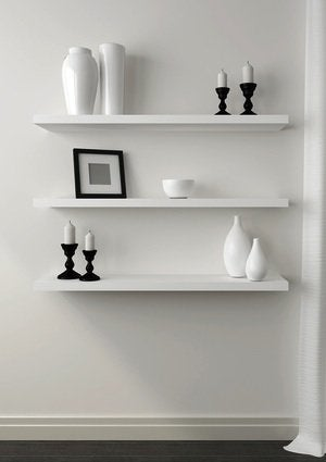 How to Hang Shelves - Floating