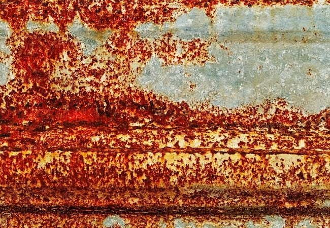 How To Remove Rust Bob Vila - How To Clean Rusty Metal Table Legs