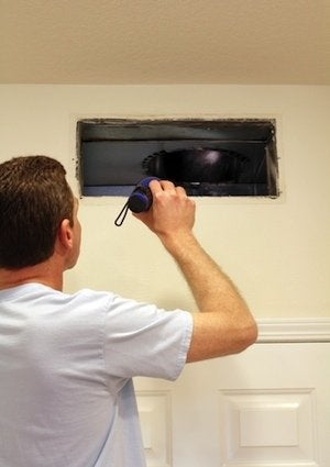 Cleaning Air Ducts - Inspection