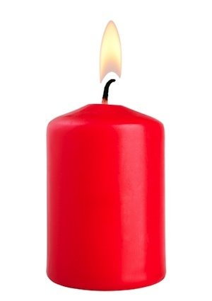 How to Remove Candle Wax - Isolated