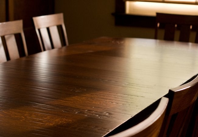 How to Clean Wood Furniture - Table