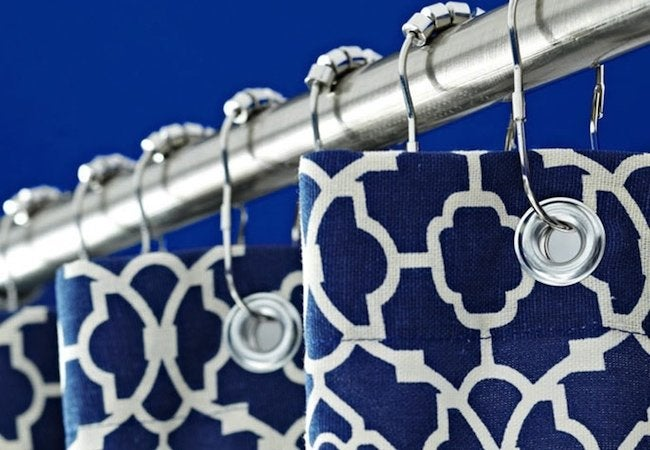 How to Make a Shower Curtain - Window Panel