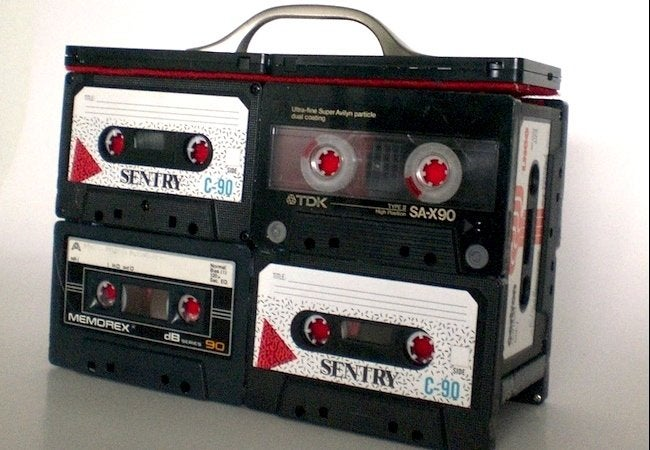 Cassette Tape Recycling - Carrying Case