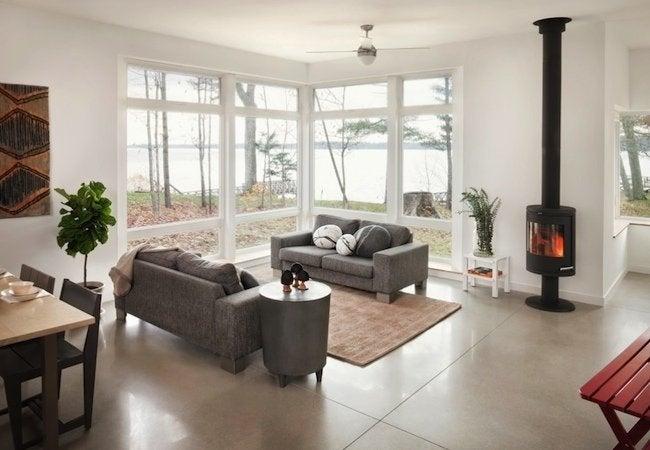 How to Polish Concrete - Living