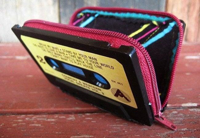 Cassette Tape Recycling - Wallet