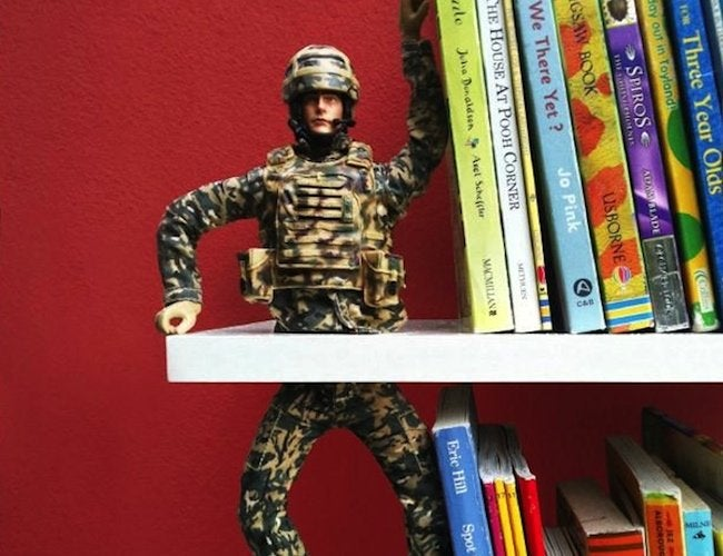 Repurposed Toys - Bookends