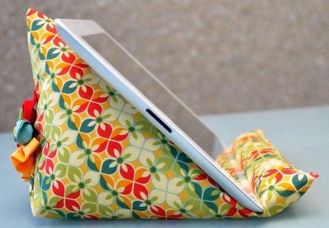 DIY Bean Bag Chair - iPad
