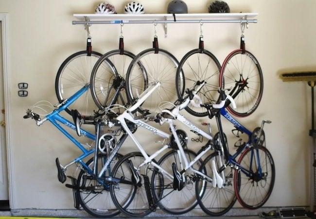 DIY Bike Rack - Storebought