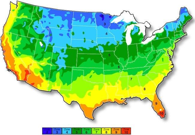 USDA Zone Maps