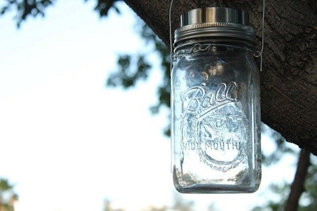 Mason Jar Solar Lamp - Complete