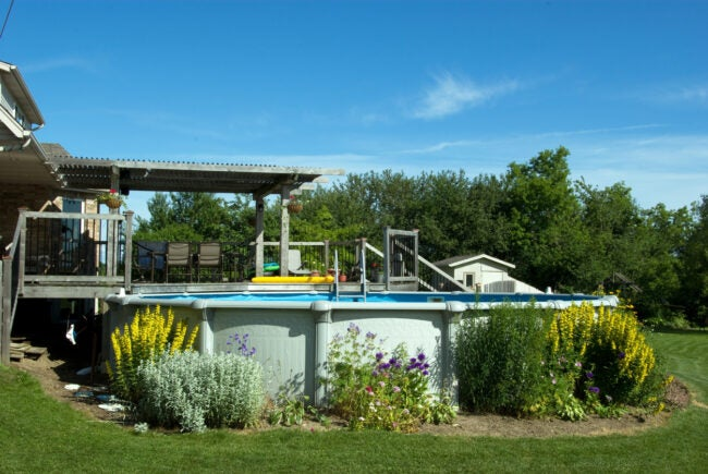 Above-Ground Swimming Pool Planning