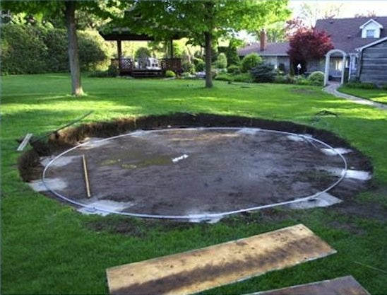 Site Prep for Above Ground Pool