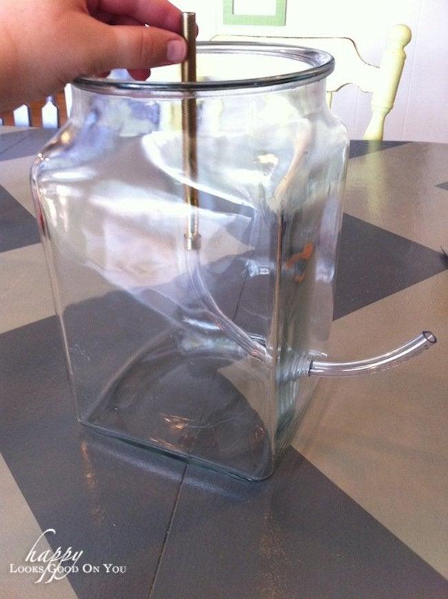 Making a DIY Concrete Lamp