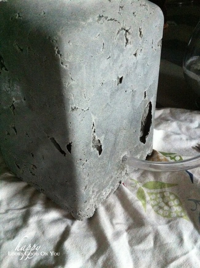 Ready to Wire DIY Concrete Lamp